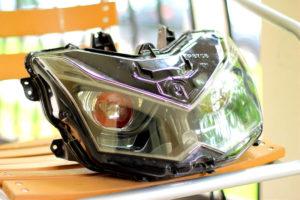 тюнинг оптики мотоцикла